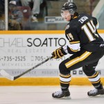 Pavel Zacha of the Sarnia Sting. Photo by Terry Wilson/OHL Images.