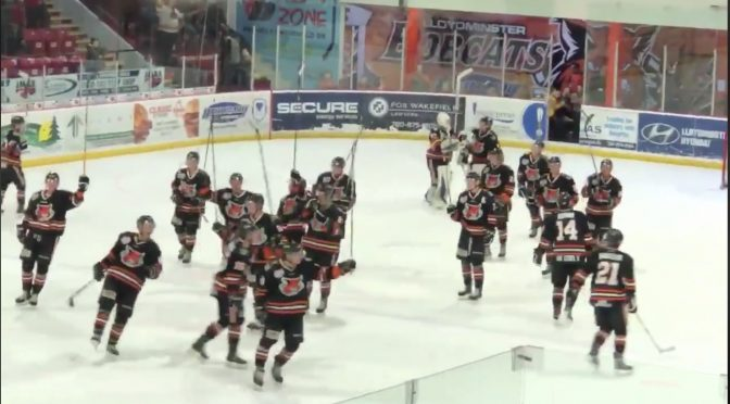 David Slays Goliath: Bobcats Defeat Top Ranked Team in the CJHL